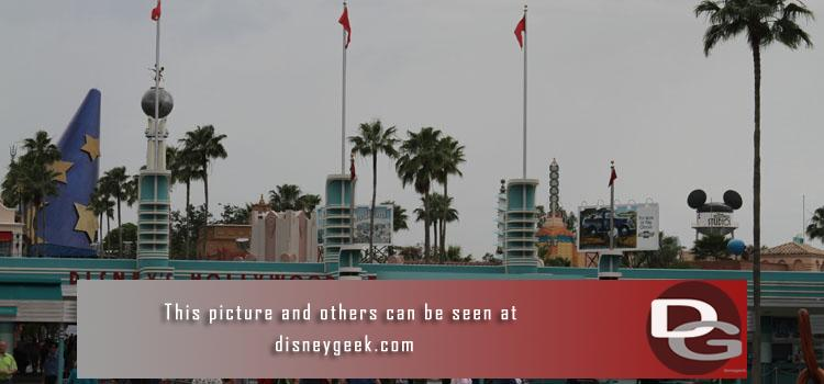 5/1 - Day 3 pictures include the Disney Hollywood Studios 25th Anniversary events and a look at the Downtown Disney/Disney Springs construction progress.