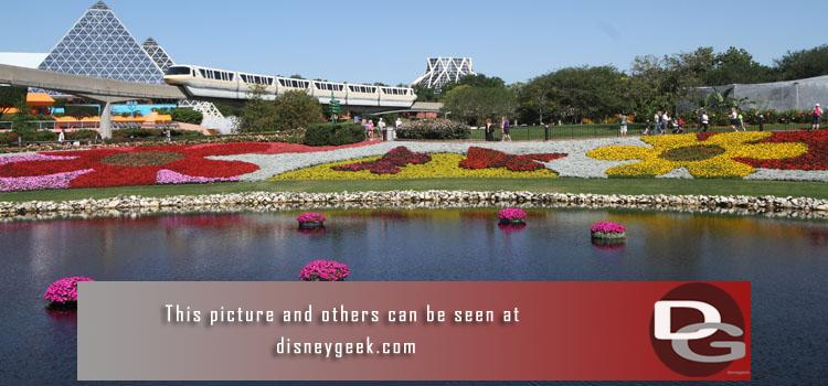 5/4 - Part II of Day 6 features a picture perfect morning walk around Epcot and the International Flower and Garden Festival.