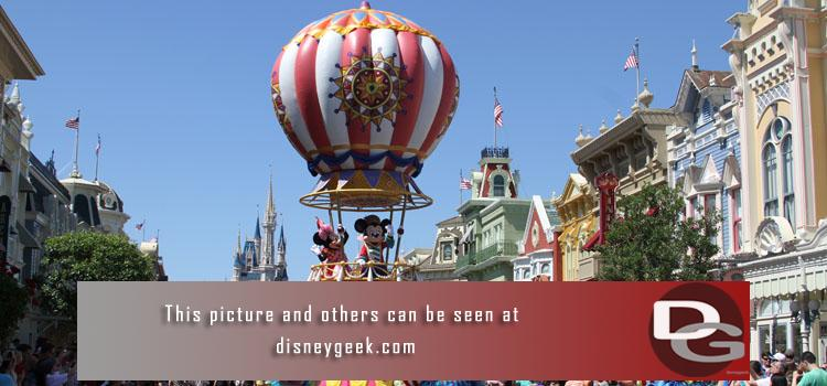 5/4 - Part III of Day 6 features the Festival of Fantasy Parade from Main Street USA at the Magic Kingdom and some Epcot World Showcase pictures to wrap up the night.