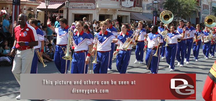 8/8 - Summer is coming to an end, only 1 week left for the 2014 All-American College Band.  Plus a first look at Halloween Merchandise and a check of ongoing renovation projects around the parks and Grand Californian.