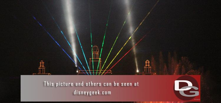 12/8 - Day 1 pictures feature a look at all four parks & the Beach Club including Magic Kingdom parade taping, Osborne Lights, and new Illuminations lasers.