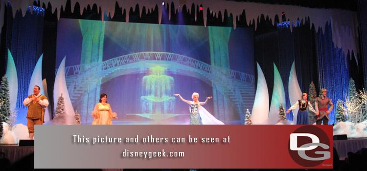 12/12 - Day 5 Part 1 Pictures - Frozen Fun @ the Studios and Big Hero 6.