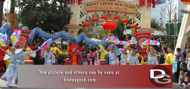 2/20 - Lunar New Year Celebration at Disney California Adventure and a check of the ongoing projects around the parks.