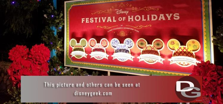 11/10 - 1st Look at Christmas Festivities in both Parks plus Star Wars Construction.