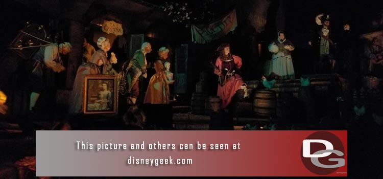 6/8 - Pirates of the Caribbean returns plus a check on Pixar Pier work with two weeks to go and Parking Structure, Downtown Disney and Star Wars projects