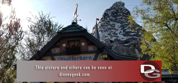 11/16 - Parking Structure Construction, Matterhorn queue changes, Storybook Land, A Christmas Fantasy Parade, Downtown Disney, Grand Californian and more