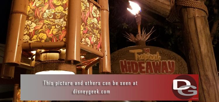 12/20 - Tropical Hideaway, more Christmas entertainment & decorations plus a check of the various projects including Marvel, Star Wars, Downtown Disney & Parking Structure