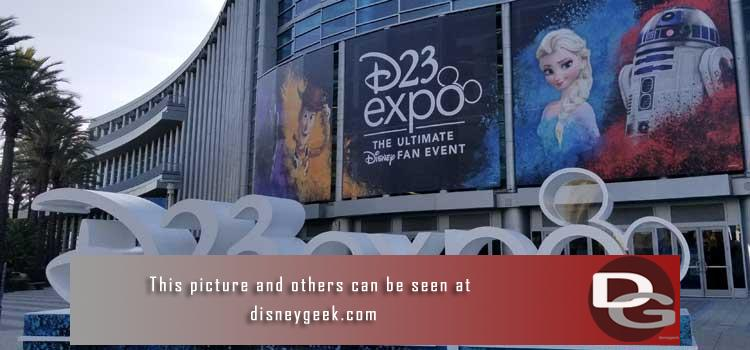 Pictures, videos and more from the D23 Expo 2019