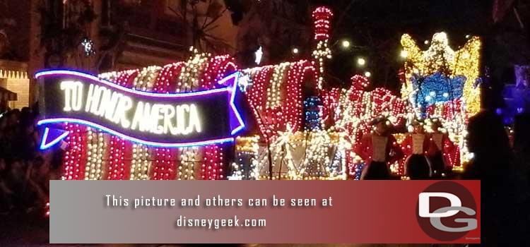 8/2 - The Main Street Electrical Parade returns, a check of the ongoing projects as well as other random pictures as I roamed the parks.
