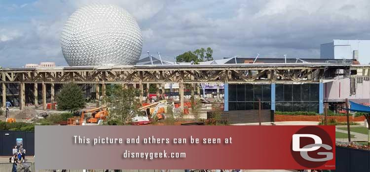 Walt Disney World pictures from December 2019 featuring visits to all the parks & several resorts to see the Christmas festivities and ongoing projects.