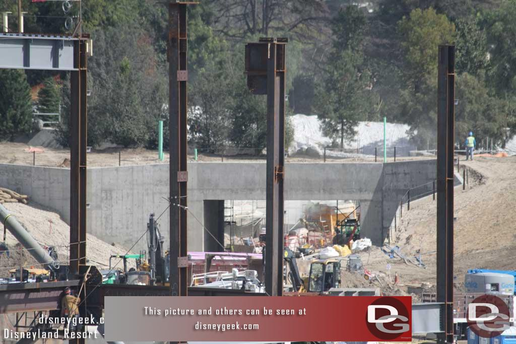 3.03.17 - A closer look at the Fantasyland entrance tunnel.