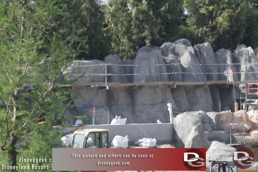 4.07.17 - As we pan you can see the various stages of the rock progress.
