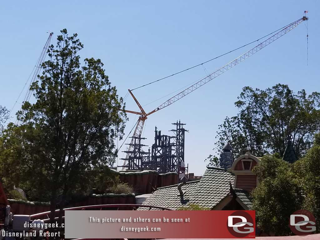 8.04.17 - To close with the view moving over to the Go Coaster as seen from the Miss Daisy.