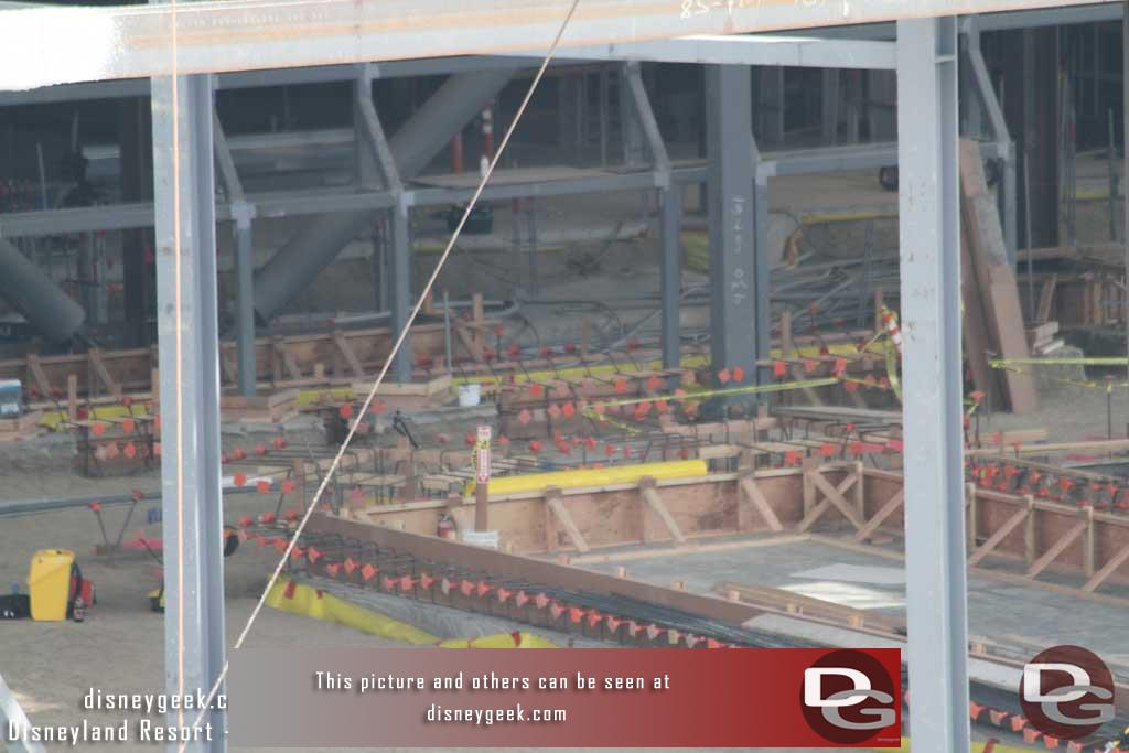 9.22.17 - Looks like some concrete has been poured in the hanger scene of the Battle Escape Building.