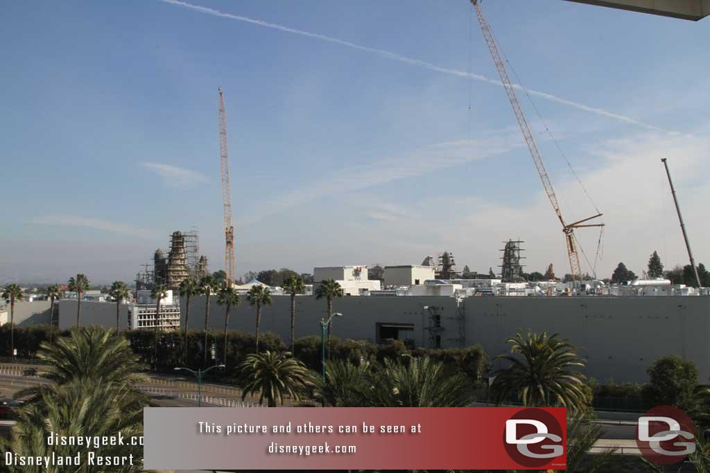 01.05.18 - An overview of the site from the Mickey and Friends Parking Structure