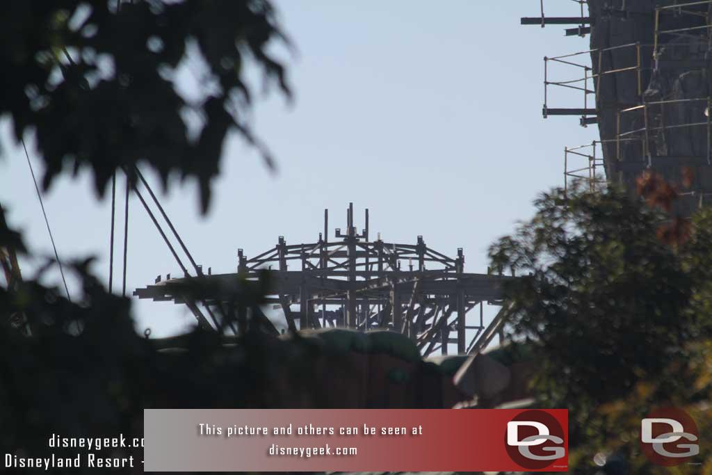 02.09.18 - The new structure from Toontown, just barely visible from ground level.