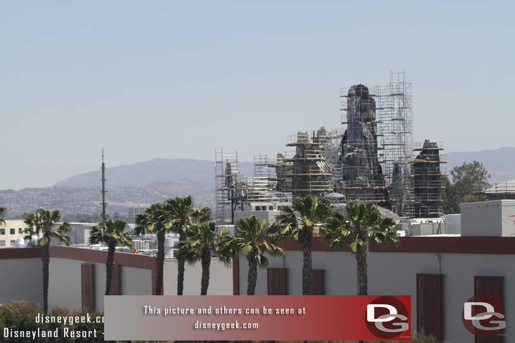 05.04.18 - Notice the steel work rising on the far left.
