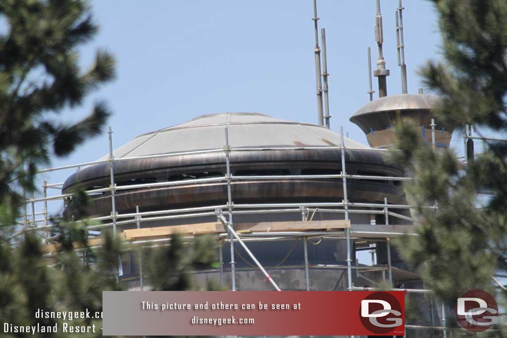 06.08.18 - Work continues around the one building you can see overlooking the outpost.