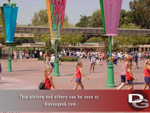 Taken - 2:41pm- The line to get into Disneyland