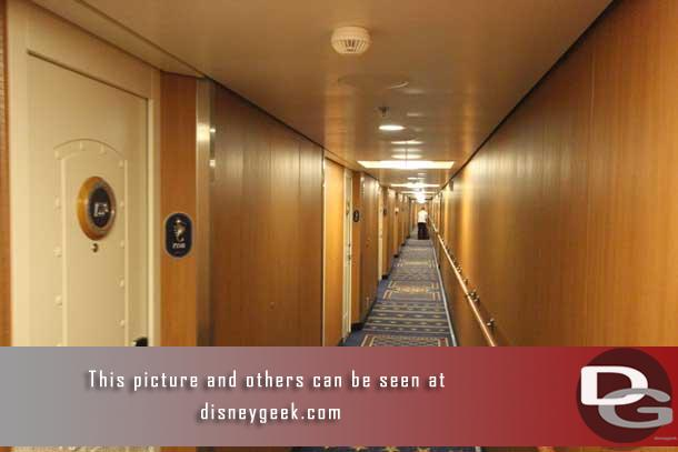 In this section we head out from the stateroom to explore the ship.