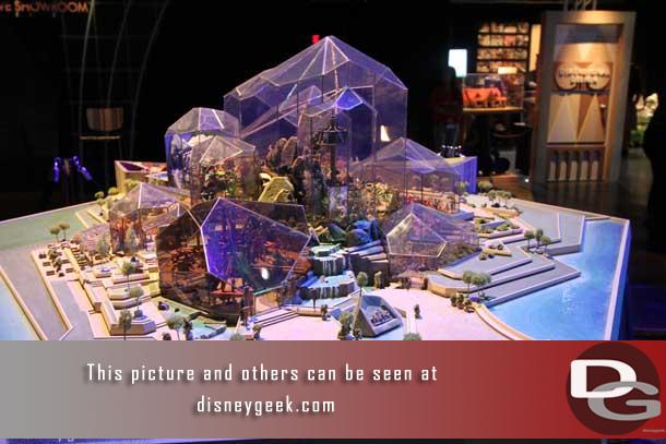 There was a large early concept model for the Land at Epcot.