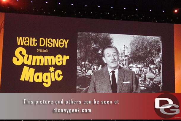 Friday night the D23 Expo Arena hosted a presentation entitled Melodies in Walt's Time: The Music of Disney Live-Action Films.