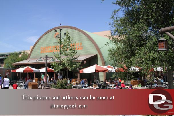 Approaching the Smokejumpers Grill