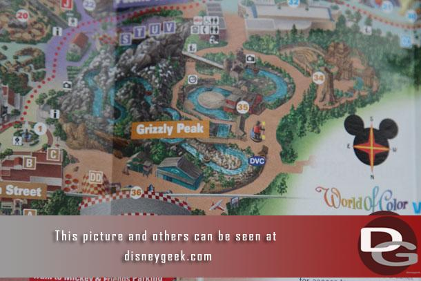 The guidemaps have been updated and Condor Flats is gone and absorbed into Grizzly Peak.