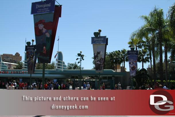 Wow..  the light pole closest to DCA is finally back.. I think its been a couple of years or at least it seems it.
