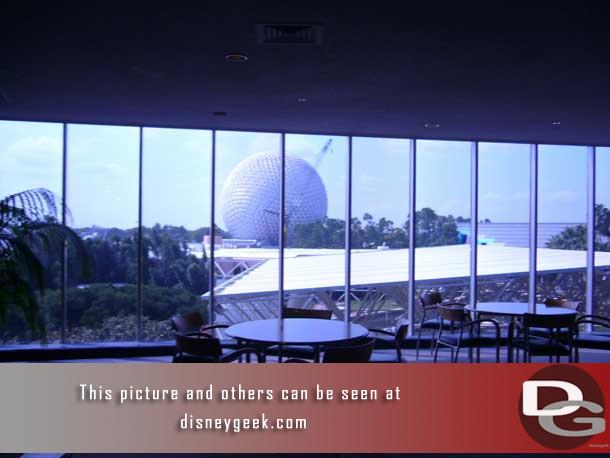 Looking out at Spaceship Earth