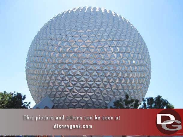 Hard to believe the park turned 27 on this day (EPCOT opened October 1,1982 and the MK opened October 1, 1971)
