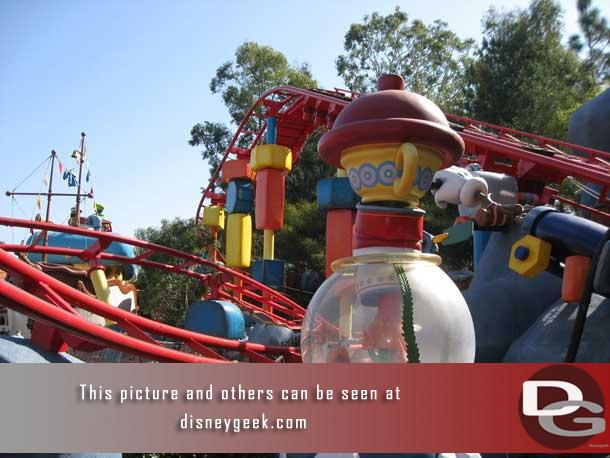 A look at the Go Coaster in Toontown