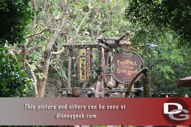 Located in the heart of Adventureland in Hong Kong Disneyland is the Festival of the Lion King show.