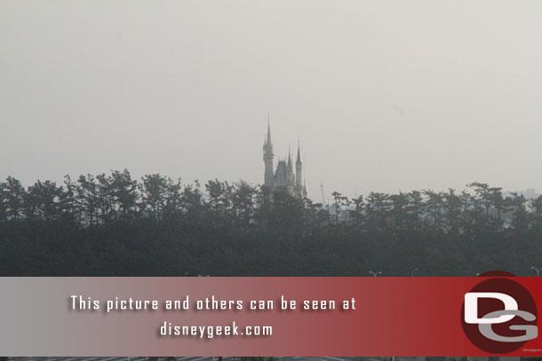 Continuing to the right, Cinderella Castle