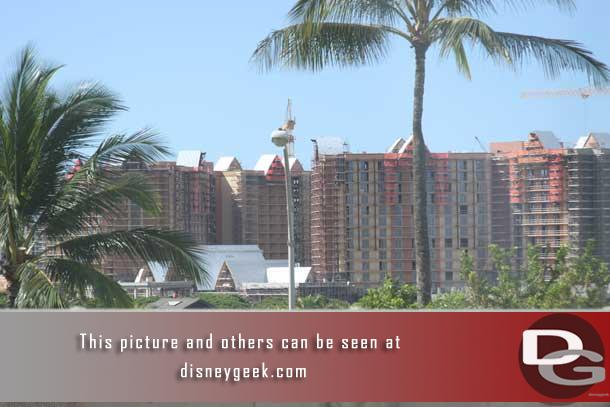 For more shots of the Disney property check out the separate update I have with an extensive look at the work.