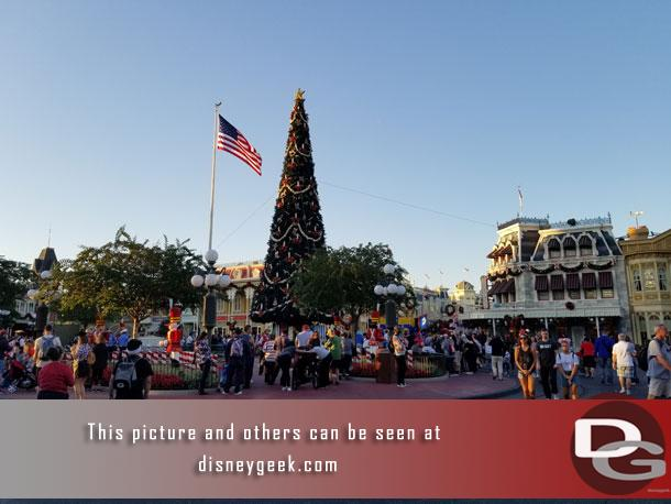 Arrived at the Magic Kingdom just after 5pm