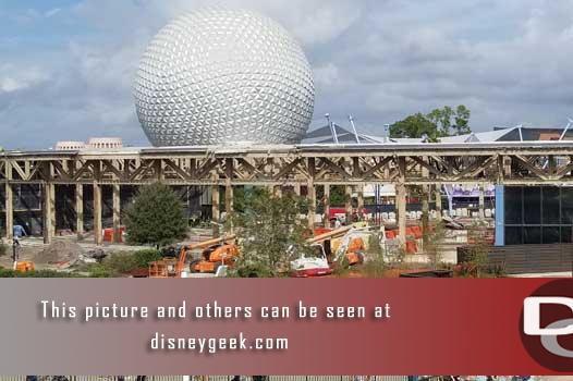 Epcot - Innoventions west demolition